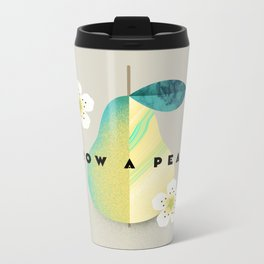 Grow a Pear Metal Travel Mug