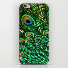 Pretty Peacock iPhone & iPod Skin