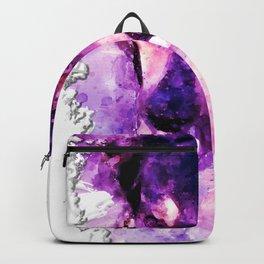 dog 3 perfect purple Backpack
