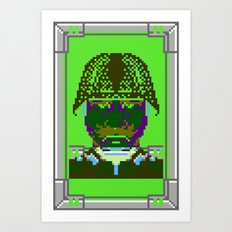 Kabuki Transmission Art Print