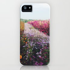field of flowers  iPhone (5, 5s) Slim Case