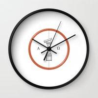 roman Wall Clocks featuring Roman Numerals by Javier Montañés