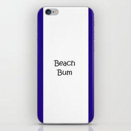 Beach Bum iPhone Skin