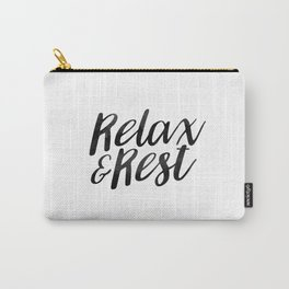 RELAX AND REST Carry-All Pouch