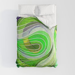 Everything Is Created Imperfect Iced Limes Comforters