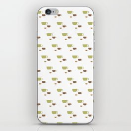 CUP PATTERN iPhone Skin