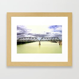 The Mighty Murray River Framed Art Print
