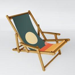 Geometric Landscape 14 Sling Chair