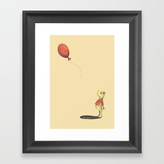 Oh Bother... Framed Art Print