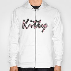 Pink Kitty Camo Hoody