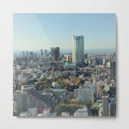 Roppongi Hills Japan Metal Print