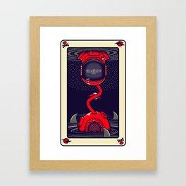 The Moon Of Bones Framed Art Print