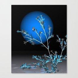 fancy tree an blue sun Canvas Print