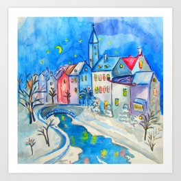WINTER TALES Art Print
