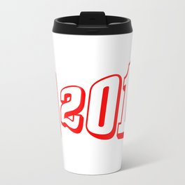 Red 2018 Megaphone Travel Mug