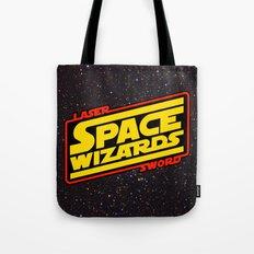 LASER SWORD SPACE WIZARDS Tote Bag