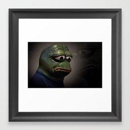 Pepe Framed Art Print