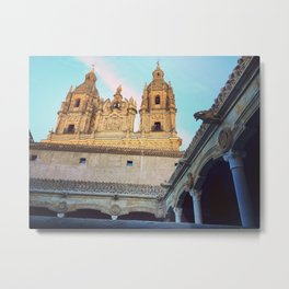 Golden Cathedral Metal Print