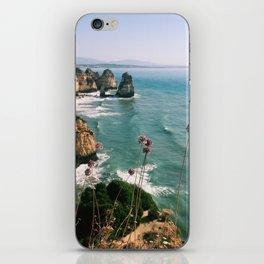Algarve coast iPhone Skin