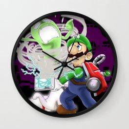Luigi's Mansion: Dark Moon Wall Clock