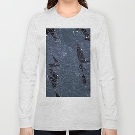 space structure windows Long Sleeve T-shirt