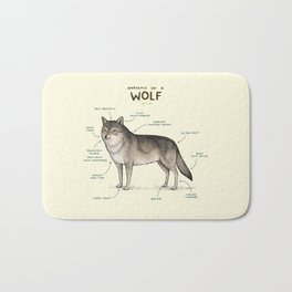 Anatomy of a Wolf Bath Mat