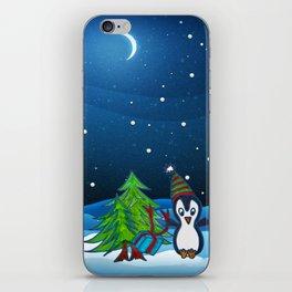 Christmas Gifts   Christmas Spirit   Kids Painting iPhone Skin