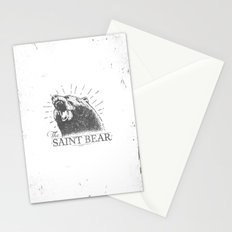 The Saint Bear Stationery Cards