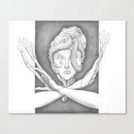 Accretion Canvas Print