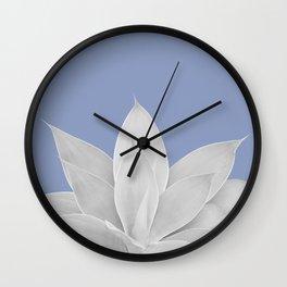 Lavender Lustre Agave #1 #tropical #decor #art #society6 Wall Clock