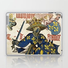 Golden Fleece King of France Laptop & iPad Skin