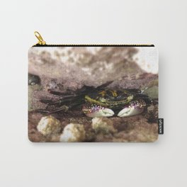 Crab in a Crevice  Carry-All Pouch