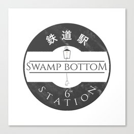 The 6th station (Spirited away) Canvas Print