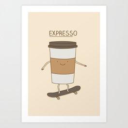 expresso Art Print