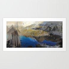 imposscape_01 Art Print