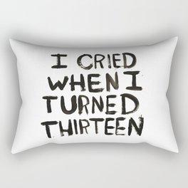 THIRTEEN. Rectangular Pillow