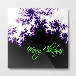 Stars for a Bright Christmas Metal Print