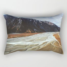 Glacier Runoff Rectangular Pillow