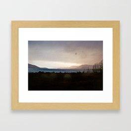 Lake Tekapo - Oil Painting Style Framed Art Print