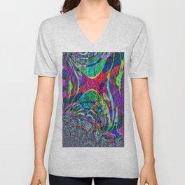 Fraktal  Colors  Unisex V-Neck
