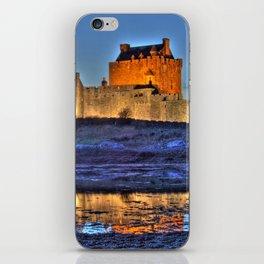 Eilean Donan Castle HDR  iPhone Skin