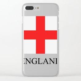 England flag Clear iPhone Case