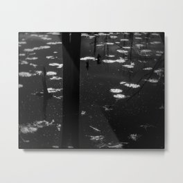 Monochrom nature Metal Print