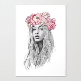 GIGI Canvas Print