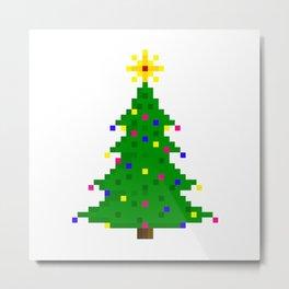 Chritmas tree Metal Print