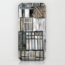 Les anciennes fenêtres  iPhone Case