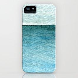 Calm sea 1985 iPhone Case