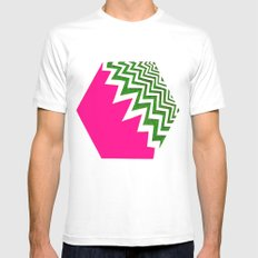 Watermelon Bizcut Mens Fitted Tee White SMALL
