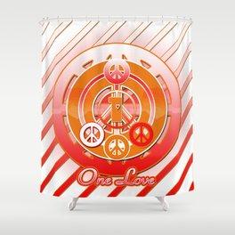 One Love (Dynasty) Shower Curtain