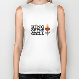 King of the grill Biker Tank